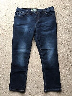 Fat Face Crop Jeans 10