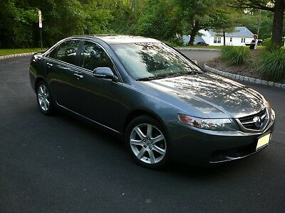 2004 Acura TSX  2004 Acura TSX with 6-Speed Manual Transmission