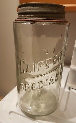 Clipper Special Jar With Lid