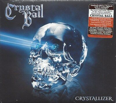 Crystallizer [Digipak] by CRYSTAL BALL (CD/SEALED - Massacre Records 2018) NEW -