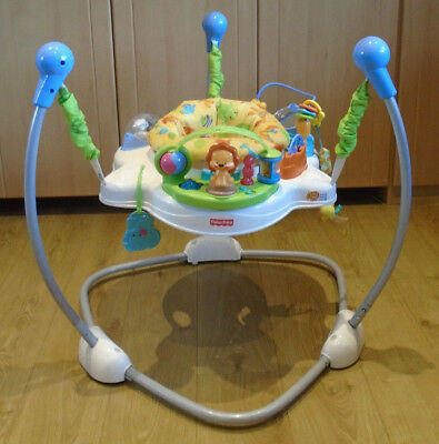 Fisher-Price Jungle/ Wildlife/ Ocean theme Jumperoo  Baby Bouncer