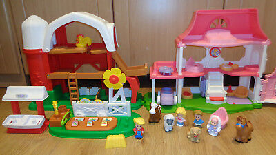 Fisher Price Little People Farm and House with sounds :)