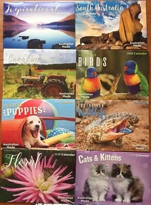 2018 14 Months Calendar Country Living SA Extreme Wildlife Inspirational Limited