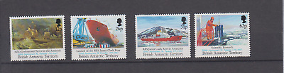 British Antarctic Territory 1991 Faraday Bicent Complete Set Mint Never Hinged
