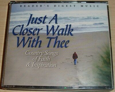 Reader's Digest Just A Closer Walk With Thee 4 Cd Boxset Faith & Inspiration