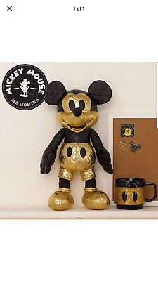 Disney Store Mickey Mouse Memories Plush AUGUST Limited LE Confirmed Order