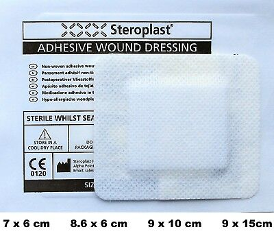 Sterile Big Plasters Steropore Adhesive Wound Dressing First Aid Burn Cuts