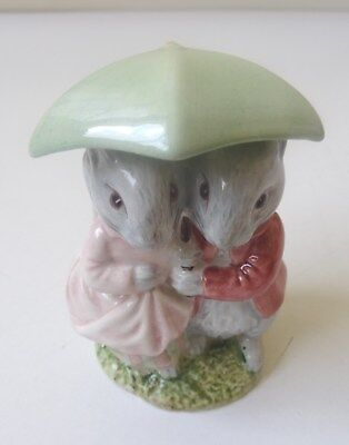 BESWICK-BEATRIX POTTER GOODY AND TIMMY TIPTOES- BP3c
