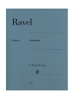 Ravel Sonatine For Piano Learn to Play Birthday Present Piano SHEET MUSIC BOOK