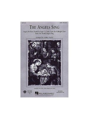 Angels Sing SATB Learn to Play Voice Vocals SATB Piano SHEET MUSIC BOOK