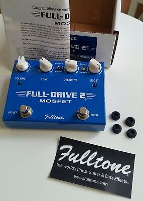 Fulltone Fulldrive 2 Mosfet Overdrive & Booster Pedal mit OVP Top Zustand!