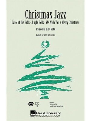 Christmas Jazz - ShowTrax CD Sing Vocal Voice Birthday Present GIFT Choral CD