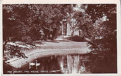 UK King's Lynn Red Mount  - Walks 1910 Cover real photo sepia postcard