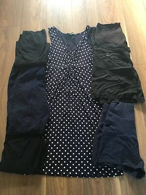 H&M Maternity Bundle Inc Over The Bump Shorts And Dress