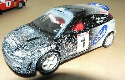 SCX Ford Focus WRC Snow Effect Referenz Nr. 60620, 1:32