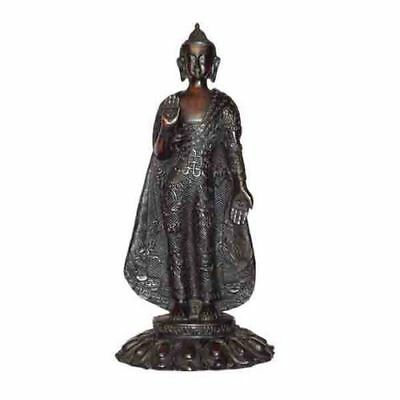 Resin Blessing Buddha Statue, Hand Craved Nepal, CL-26, Home Decor, Brand New