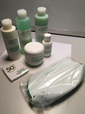 Mario Badescu MB Favorites 7 piece set, includes bonus compact and bag @
