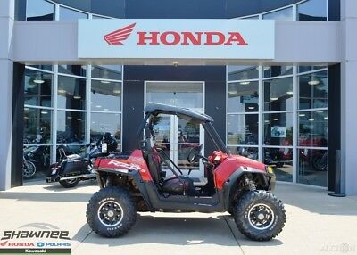 2013 Polaris RZR S 800 EPS Sunset Red LE Used