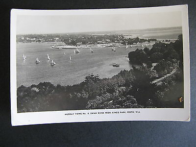 Swan River Sailing Boats From Kings Park Perth Western Australia