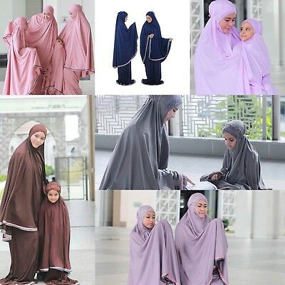 Murah Prayer Sets Instant Hijab Khimar One Piece Slip On Scarf Jilbab Abaya