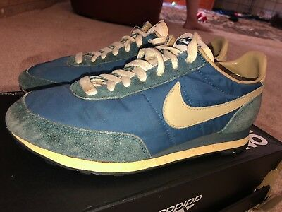 a50d3bbb7be0 ... where to buy vintage nike oceana cortez running shoes 70s 80 waffle  daybreak blue suede db15d