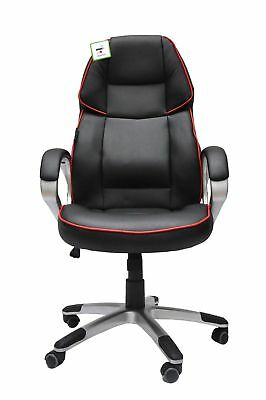 Gaming Racing Sports Office Chair Pro Executive PU Leather High Back Design