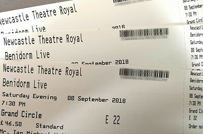 Theatre tickets Benidorm Live
