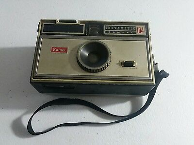 Vintage Kodak Instamatic 104 Camera with Strap UNTETED