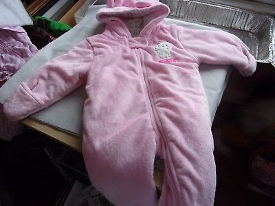 Child of Mine by Carter's Hooded Baby Bunting/Snowsuit  3-6 mos.