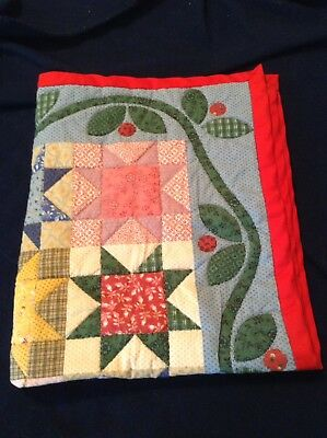 Small Doll Quilt - Hand Stitched