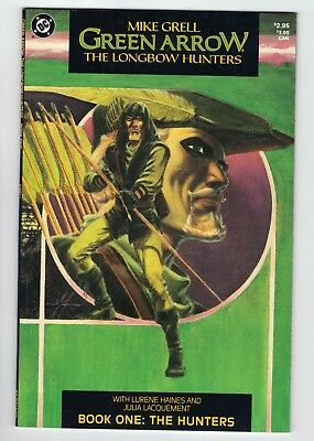 Green Arrow The Longbow Hunters • Issues 1-3 • VF/NM (1987)