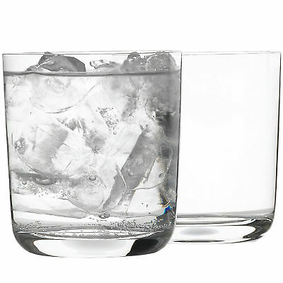 NEW Set of 4 Bin 4735 Double Old Fashioned Glasses Rona Glasses