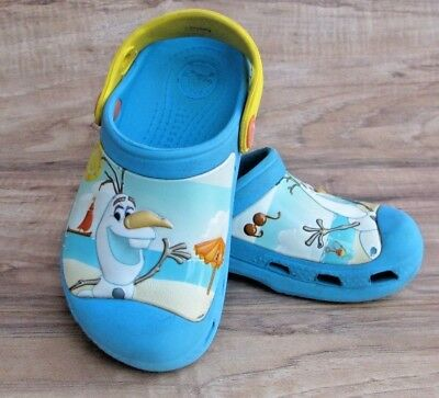 a57b1194b CROCS DISNEY FROZEN OLAF DUAL SZ C 10 11 Shoes Slip On Clogs GUC ...
