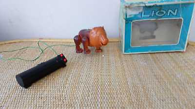1960s Remote Control Lion Vintage Collectable Toy