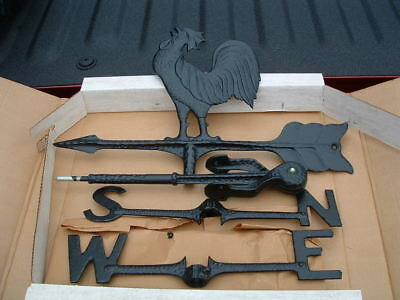 Old Century Forge Brand New Old Stock Rooster Weather Vane Made In Usa