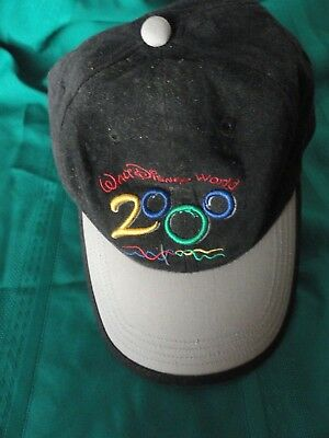 Disney Embroidered Cast Member 2000 Celebrate Hand in Hand Cap new