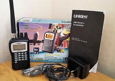 "Uniden Ubc92Xlt Scanner, Great Condition.  ""come And Take A Look"""