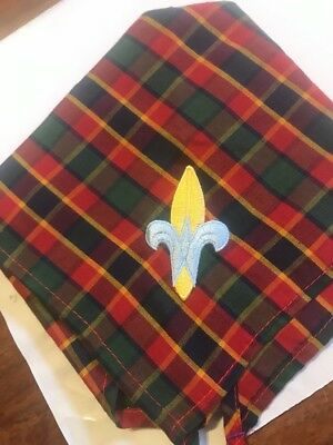 Plaid Boy Scout Webelos Neckerchief