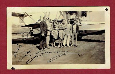 1929 Air Event Cover Signed By Early Bird Robert J. Armor And Irvin A. Woodring