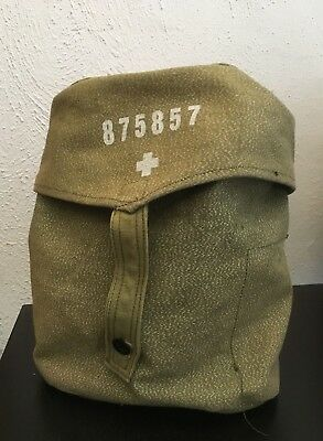Awesome Army Surplus canvas satchel bag
