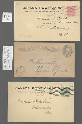 Canadian Postcards, Lot Of 18, 1890's Thru Teens, Some Commercial