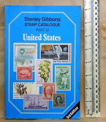 United States Catalogue Stanley Gibbons Part 22 1990 Blue Specialised Paperback