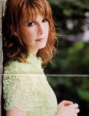 Patty Loveless 2 Page Magazine Centerfold Poster Country Music