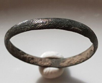 ROMAN WEDDING BAND Ancient Bronze RING