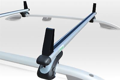To Fit Fiat Doblo 2001+ Roof Rack Rails Locking Cross Bars + Load Stops
