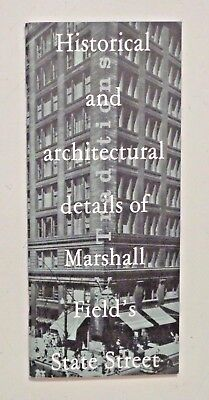 MARSHALL FIELD'S Chicago - Historical & Architectural Details - Famed Store FINE
