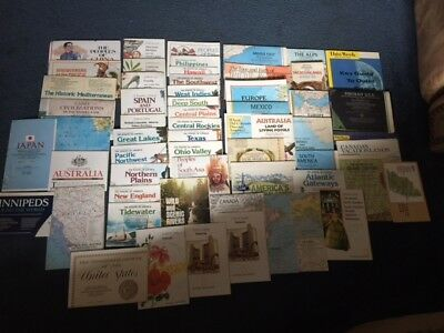Lot of 50+ National Geographic Maps - 1950's - 1980's - All in Nrmint - Mint