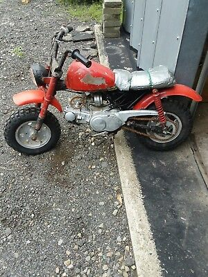 Vintage Honda Trail Mini Bike For Restore Htf