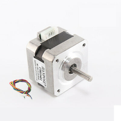 NEMA 17 Stepper Motor 1.8° 12V For CNC Router 3D Printer Extruder 28Ncm 1.3A