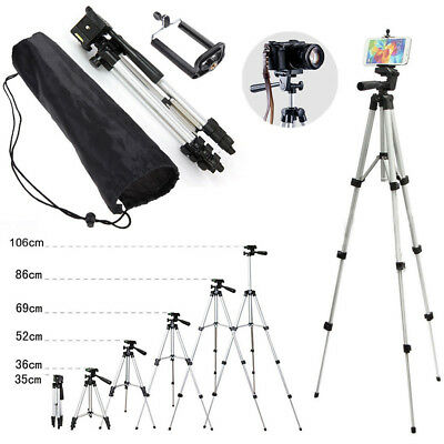 Universal Aluminum Portable Tripod Stand Camera with Bag for Canon Nikon Olympus